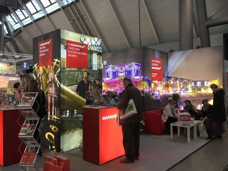 Stadtmarketing Mannheim Messestand, CMT